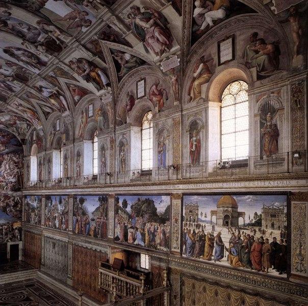 Чому Мікеланджело ненавидів живопис
