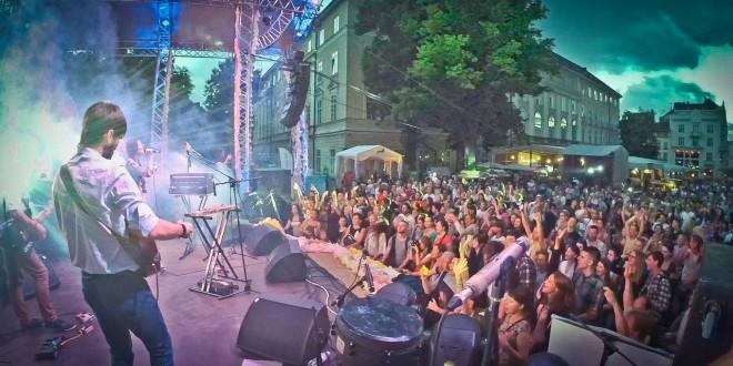 Духовний усесвіт у центрі Львова: концерт гурту «AtmAsfera»